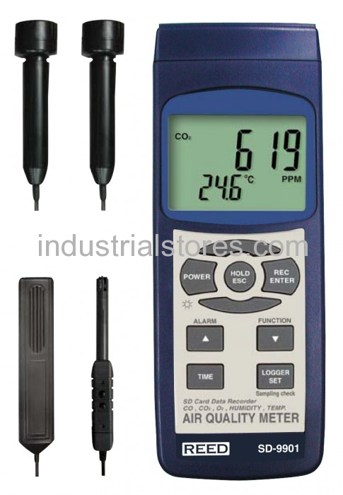 Reed SD-9901 Air Quality Meter Data Logger