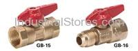 """Conbraco 51-GF4-01 Unibody Gas Shutoff Ball Valve 3/4"""""""