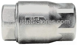 """Conbraco 62-103-01 Stainless Steel Ball-Cone Check Valve 1/2"""" 0.5 Cracking Pressure 400psig WOG Cold Non-Shock 125psig Saturated Steam"""