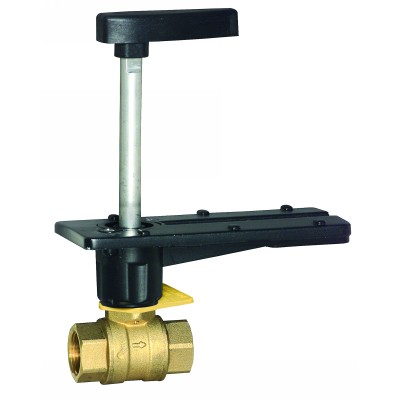 "Honeywell VBN2H145.00PX Ball Valve 2"" 145Cv 3"" Brass Actuator"