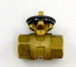 "Honeywell VBN2A000.68PL Ball Valve 2"" 1/2"" 0.68Cv Brass Actuator"