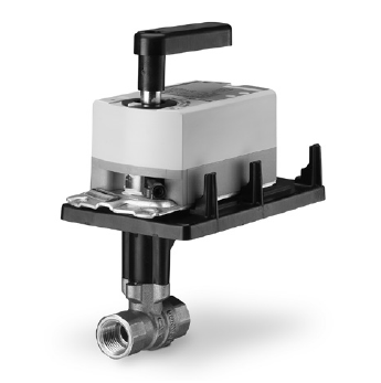 """Siemens Building Technology 171K-10303 Two-Way Ball Valve Assembly with 1/2"""" Valve Body 1.6Cv 200 PSI Normally Open with Spring Return Actuator"""