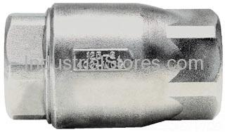 """Conbraco 62-106-01 Stainless Steel Ball-Cone Check Valve 1-1/4"""" 0.5 Cracking Pressure 400psig WOG Cold Non-Shock 125psig Saturated Steam"""