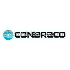 "Conbraco 6P-209-01 Cast Iron Full Port Class 125 Flanged Ball Valve 2-1.2"" 0-200psi"