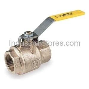 "Conbraco 77C-103-01 Bronze Full Port Ball Valve Threaded Contractor Series 1/2"""