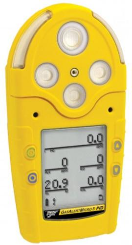 BW Technologies LEL/O2/PID/CO/H2S Detector, Rech. Batt., Pump