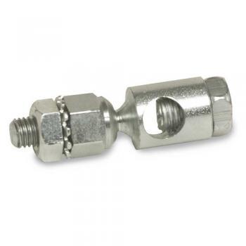 "Honeywell 102546 Ball Joint Assembly for Damper Applications 5/16"" Diameter Push Rod"