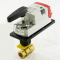 "Honeywell VBN2AB3P0D Actuated Control Ball Valve 1/2"" 2-Way with 0.38Cv Spring Return Modulating"