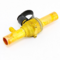 Emerson Flow Controls 806750 Refrigeration Manual Shut Off Ball Valve with Access Valve 1/4""